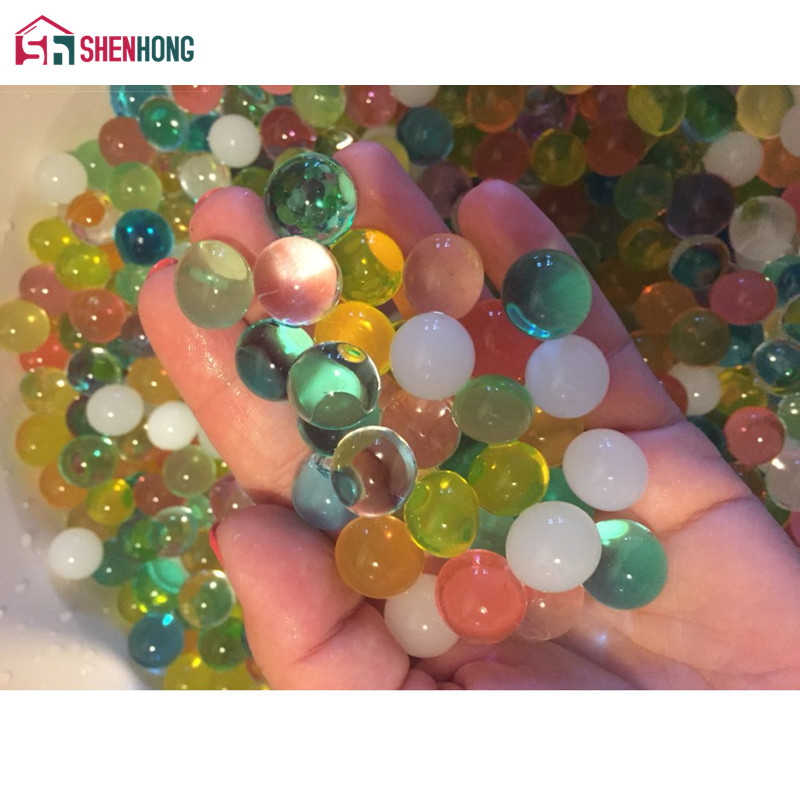 2000 Pcs/lot Pearl Shaped Crystal Soil Water Beads Water
