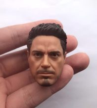 "1/6 scale male figure doll accessory Robert Downey Jr. Tony Stark Iron Man head sculpt for 12"" action figure doll.A0080(China)"