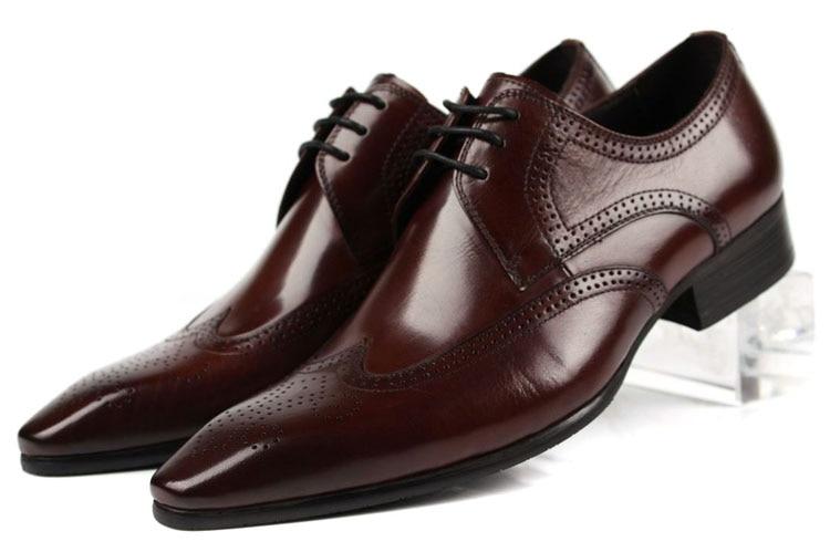 Large Size EUR45 Black / Brown Tan Oxfords Shoes Mens Business Shoes Genuine Leather Wedding Shoes Male Dress ShoesLarge Size EUR45 Black / Brown Tan Oxfords Shoes Mens Business Shoes Genuine Leather Wedding Shoes Male Dress Shoes