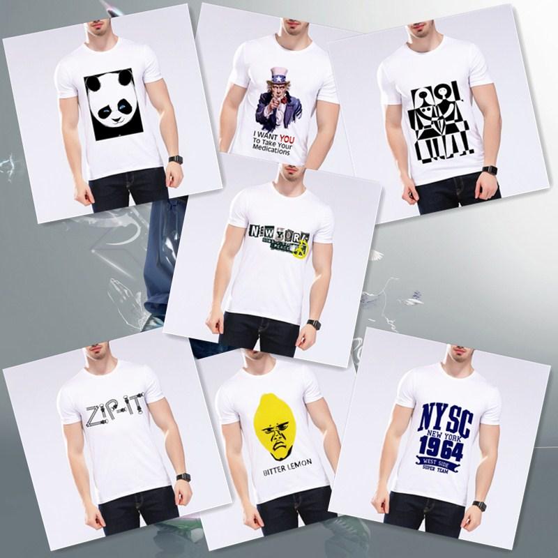 Men's Clothing T-shirts Summer Funny Style Men Tees Bob Marley Letter Design Print Brand Clothing Hip Hop T Shirt Hhipster Men Short T Shirt L9-a4