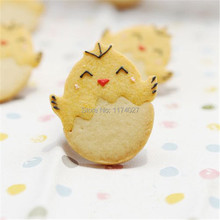 Cartoon Cake cute Chick DIY stainless steel biscuit baking mold cookie moulds Cutters Tools Free shipping