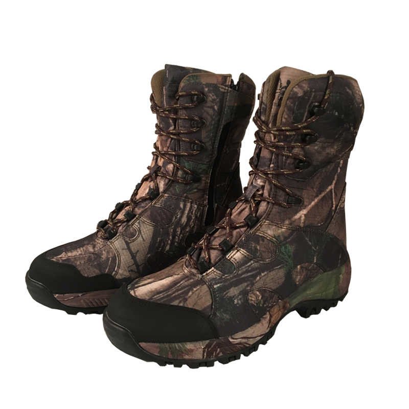 39a369c95ed YUANJYUANOK Camo Hunting Boots Realtree AP Camouflage Boot  Waterproof,Outdoor Camo Boot Hunting Fishing Shoes Size 39-45