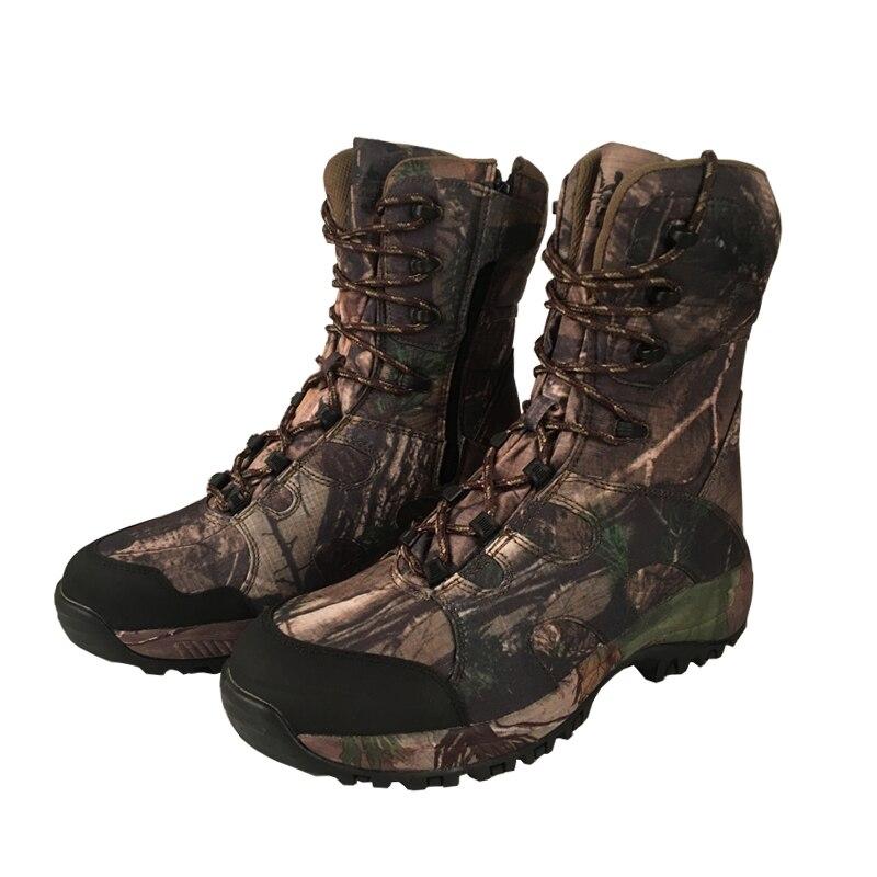 Botas de Caça Camo Realtree AP Camouflage YUANJYUANOK de Inicialização À Prova D' Água, Bota Camo Pesca Caça Ao Ar Livre Sapatos Tamanho 39-45