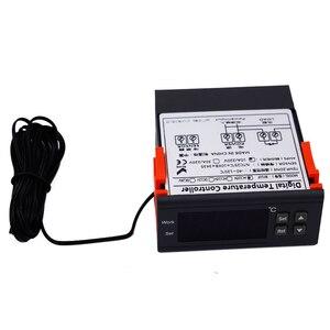 Image 5 - Mini Digital Aquarium temperature controller with Sensor  thermometer freezer thermostat regulator 220V