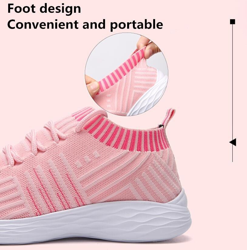 De Black purple Chaussures Plus Chaussette Glissement Tricot Femme forme Dames Taille Sneakers 2019 La Plate Ressort Chaishou pink Sur Mode gray Casual 163 Des B Femmes Uqw4EOnB
