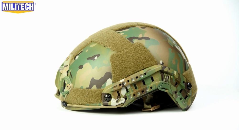 Romantisch Militech Mc Multicam Stapel Bauen Deluxe Liner High Cut Helm Kommerziellen Video Schutzhelm Sicherheit & Schutz