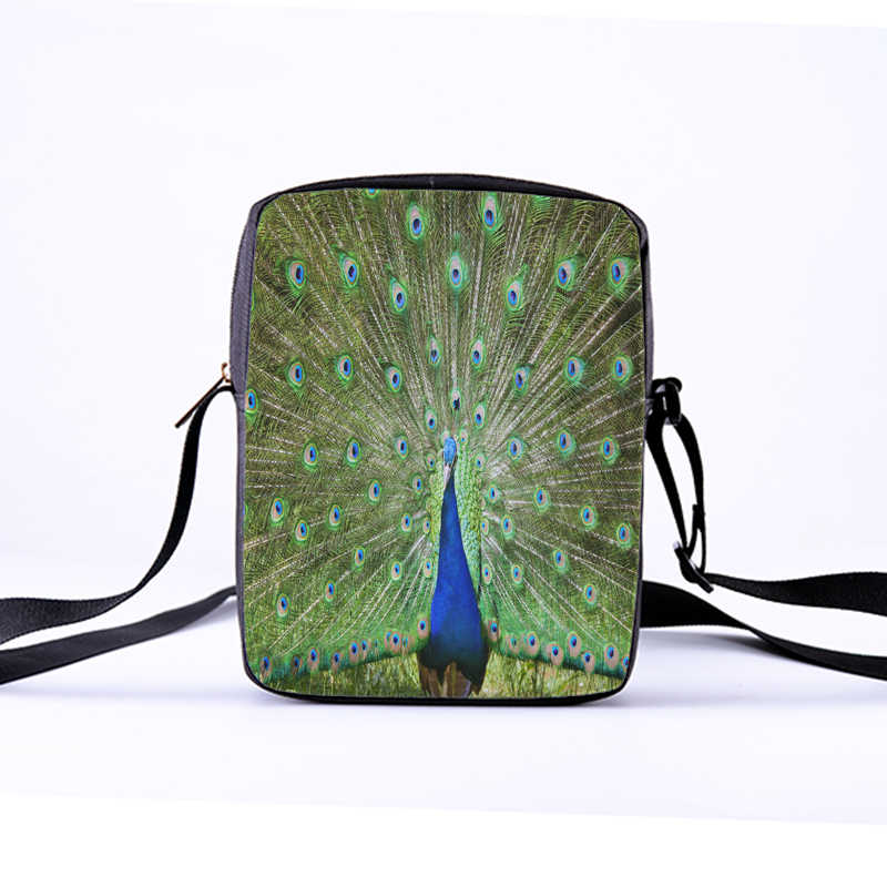 4dd630b0ff34 ... CROWDALE Women Messenger Bags The peacock Shoulder Bag Handbags Toucan  photo Children Crossbody Bag bags for ...
