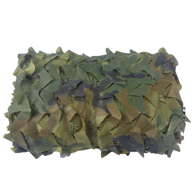 1.5M Width Sniper Camouflage Net Ghillie Suits 150D Polyester Oxford Camo Netting Hunting Clothes Airsoft Sniper Hunting Uniform