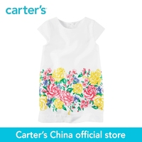 Carter S 1pcs Baby Children Kids Sateen Floral Shift Dress 251G290 Sold By Carter S China