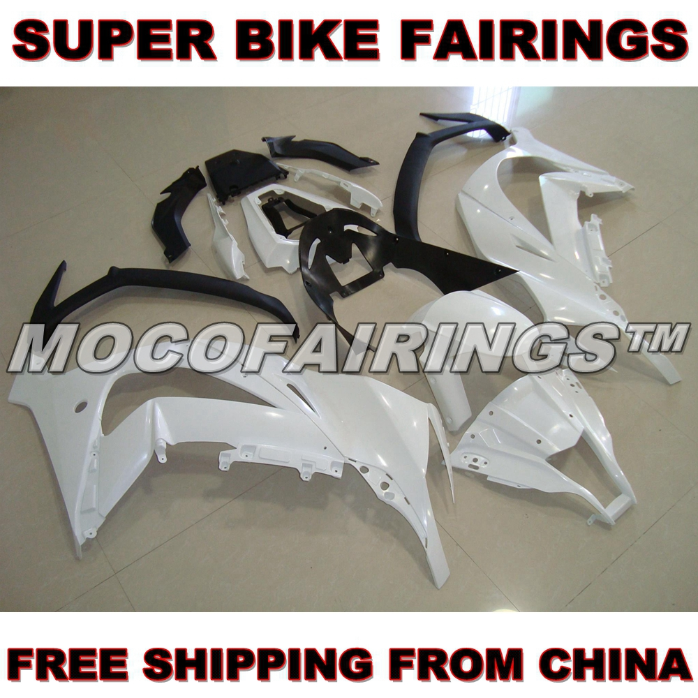цены Motorcycle Unpainted ABS Fairing Kit For Kawasaki ZX-10R ZX10R 2011 2012 11 12 Fairings Kits Front Nose Bodywork Pieces