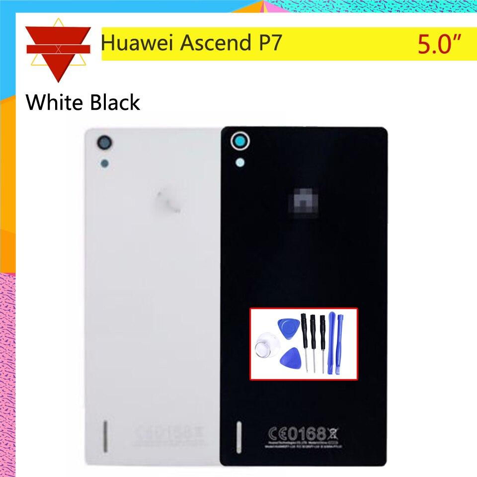 Rear-Door-Housing Battery Door-Cover Glass Huawei for Ascend P7 P7-l10/P7-l00/P7-l05/..