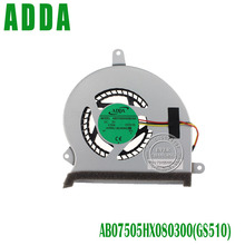 Ноутбук процессор охлаждения AB07505HX080300(GS510) вентилятор для VORKE V6 BAREBONE GRA PC GTX960M GS510 731551000103 731551000104