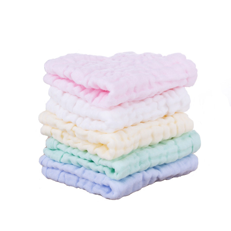 Newborn Baby Girl Gauze Towel Infant Bath Hand Towel Strong Water Absorption Baby Child Face Washing Cotton Towel Promotion