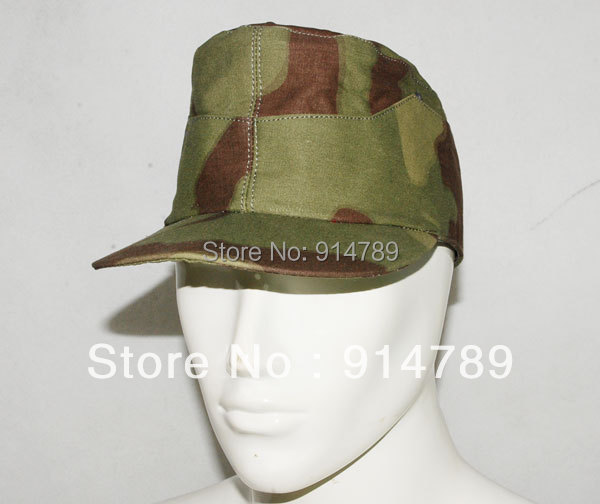 WW2 GERMAN ITALIAN CAMO FIELD CAP SIZE M-31208