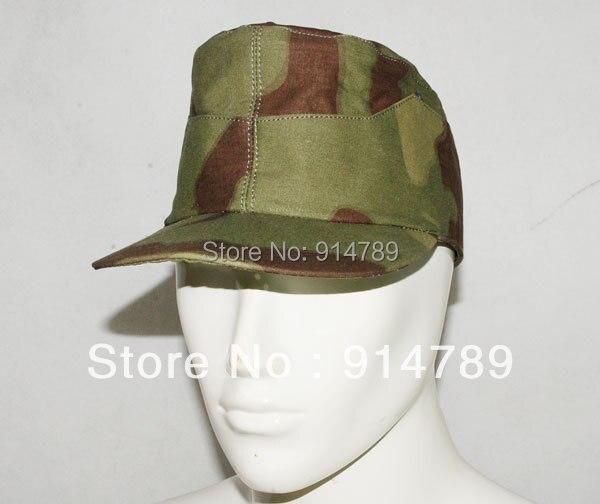 WW2 GERMAN ITALIAN CAMO FIELD CAP SIZE M 31208