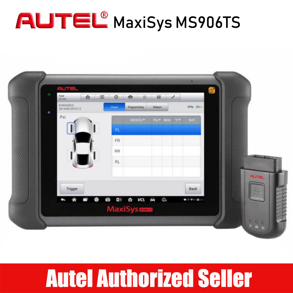 все цены на AUTEL MaxiSYS MS906TS Professional OBD2 Car Diagnostic Tool Auto Code Reader Scanner with ECU Coding TPMS Function Free Update онлайн