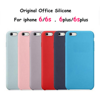 12 Colors Silicone Case For Apple IPhone 6S 4 7 S 6 Plus 5 5 High