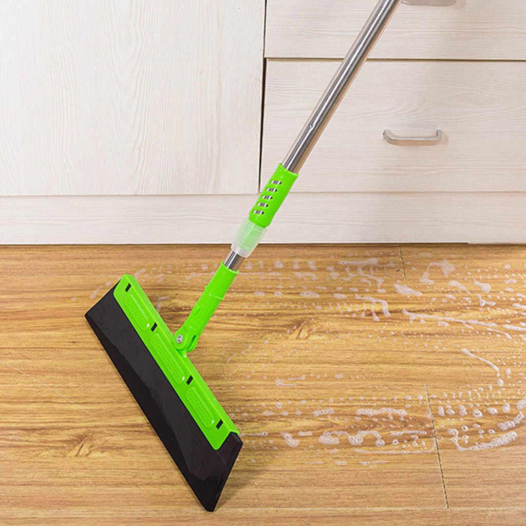 Метла чистая развертка выскабливание пыли волосы ванная комната стекло кухонные инструменты Щетка стеклоочистителя Чистящая Щетка резиновая Швабра многофункциональная 64P