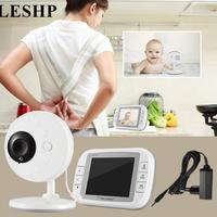 LESHP Baby Monitor with 3.5 Inch Wireless TFT LCD Video Night Vision 2 way Audio Infant Baby Camera Digital Video Babysitter