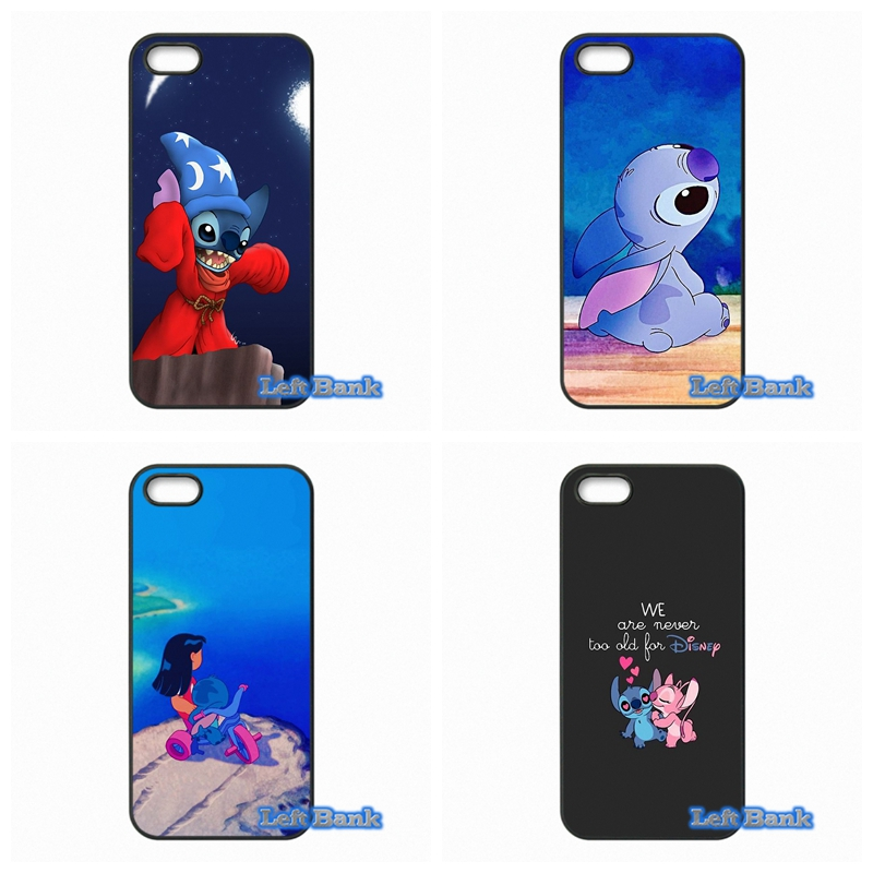 Lilo and stitch Phone Cases Cover For Apple iPhone 4 4S 5 5S 5C SE 6 6S 7 Plus 4.7 5.5 iPod Touch 4 5 6