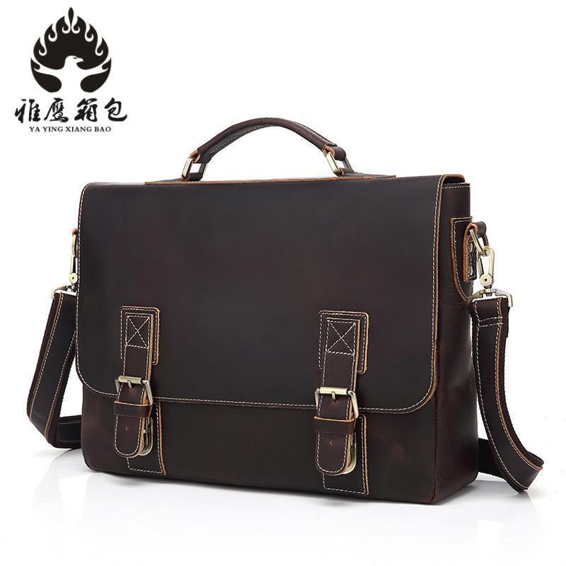 Genuine Leather Bag Men Leather Bags Messenger Bag Laptop Male Man Casual Tote Shoulder Crossbody Bags 2018 Handbags Men