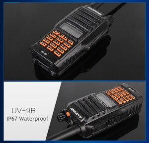 Image 3 - BaoFeng walkie talkie UV 9R, 8w, gran potencia, IP 67, radio bidireccional para caza, profesional, impermeable, con accesorios, 2018