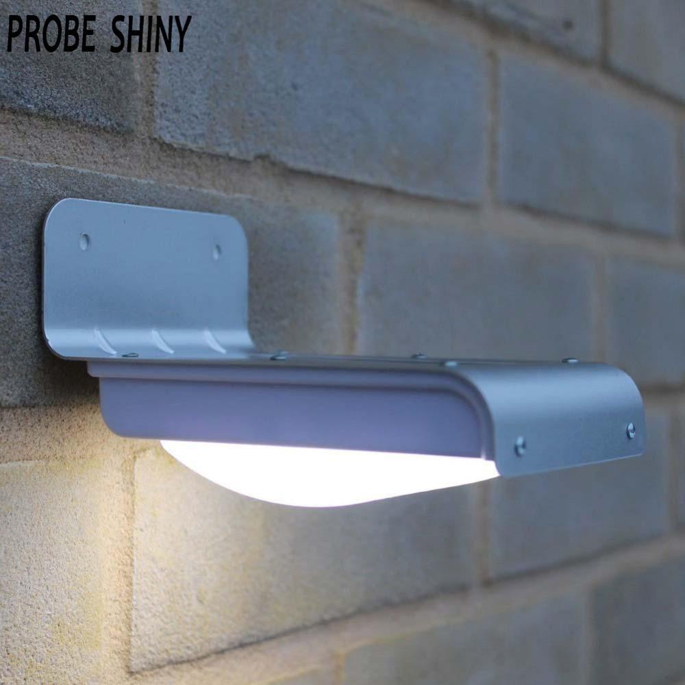 16 LED Solar Sensor Light 16 LEDs Outdoor Wireless Solar Powered PIR Motion  Sensor Light/