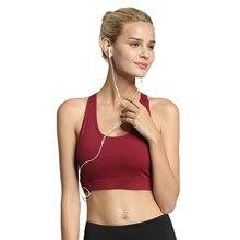 Srogem Fashion Solid Pocket Sports Bras For Women Push Up Lingerie Seamless  Brasier Mujer Tallas Grandes 751547ee7