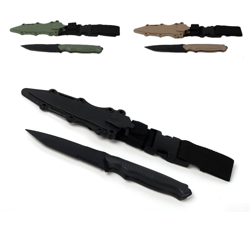 Outdoor army military font b tactical b font font b knife b font for war game