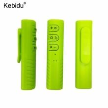 Kebidu Mini Draadloze Bluetooth Ontvanger 3.5Mm Jack Bluetooth Audio Music Adapter Met Microfoon Voor Hoofdtelefoon Speaker