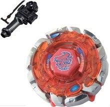 Лучший Подарок На День Рождения Темно-Bull H145SD супер де Beyblade 4d игрушки starter редкие Launcher юпитер peonza juguete деревянные волчки
