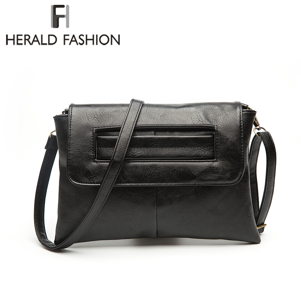Herald Fashion Quality Women Day Clutches Female Leather Shoulder Bag Vintage Solid Envelope Lady's Messenger Bag Crossbody Bag herald fashion quality women day clutches female leather shoulder bag vintage solid envelope lady s messenger bag crossbody bag