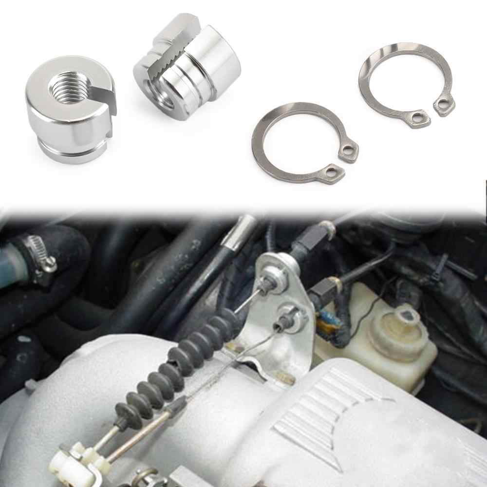 Areyourshop Bilet Aluminium Throttle BUSHING UNTUK BMW E30 E34 E28 E39 E36 M20 M30 M50 S14 M60 Throttle Kabel Bushing suku Cadang Mobil