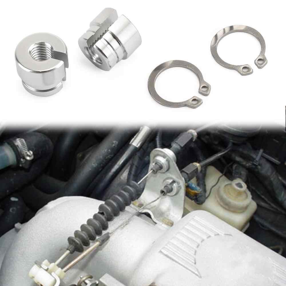Areyourshop Bmw E30 E34 E28 E39 E36 M20 M30 M50 S14 M60 ビレットアルミスロットルブッシュスロットルケーブルブッシング車の部品