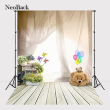NeoBack Thin vinyl cloth New Born Baby Photography Backdrop children kids backdrops Printing Studio Photo backgrounds A2398 цены
