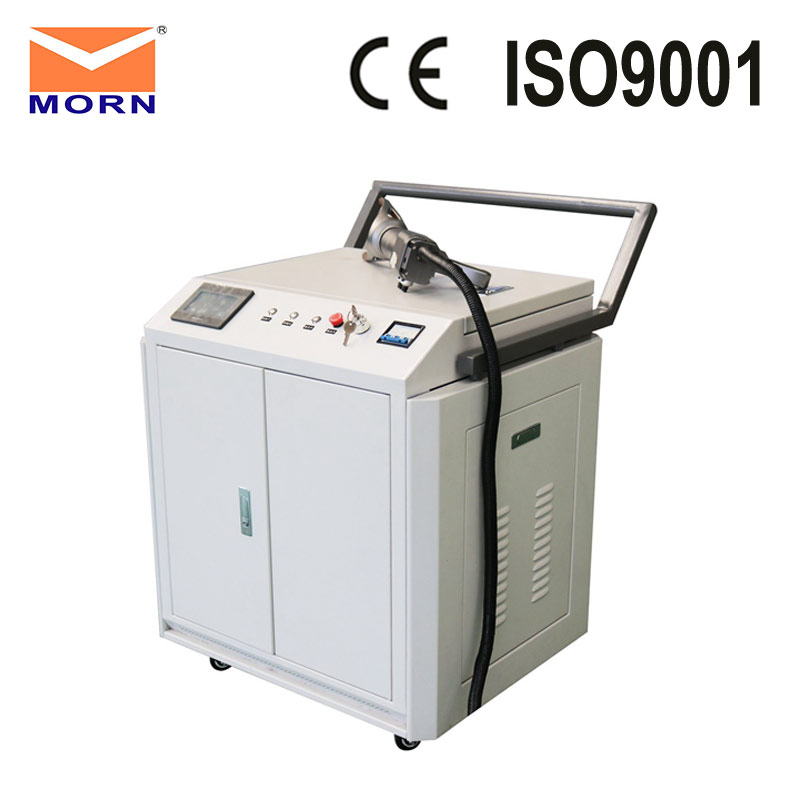 100w Original High Quality Handle Automation Laser Cleaning Machine For Rust, Paint, Oil, Residuum Cleaning Made In China