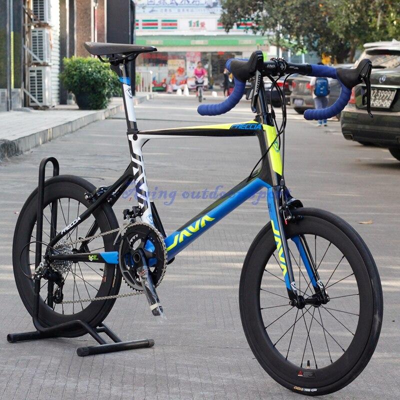 JAVA Freccia 20 pulgadas 451 Mini Bike Velo de Carbono 20 \