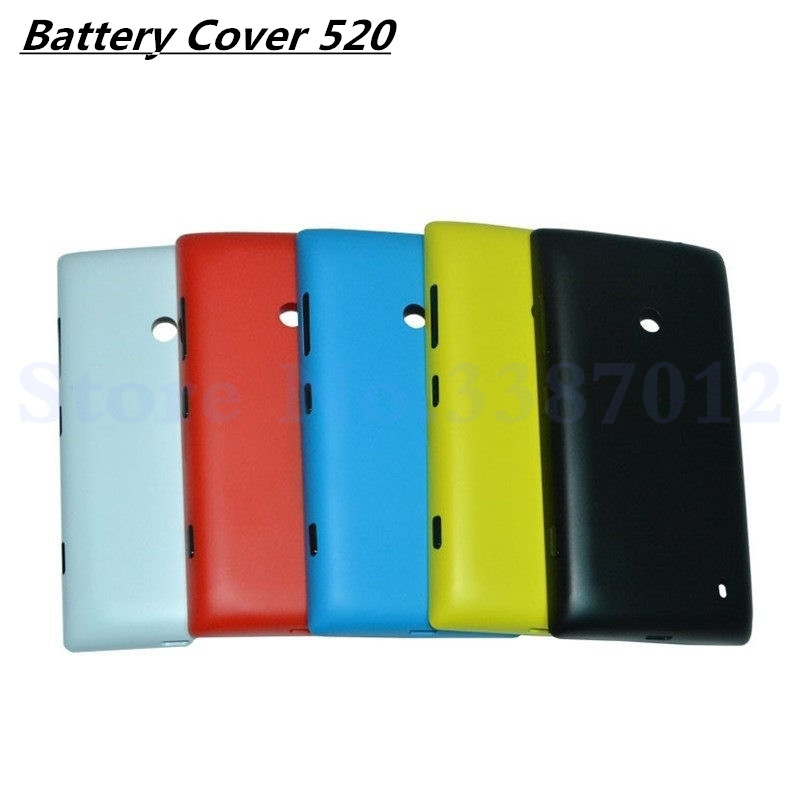 New Housing Battery Door For Nokia Lumia 525 520 N525 Back Battery Cover Case With Power Volume ButtonsNew Housing Battery Door For Nokia Lumia 525 520 N525 Back Battery Cover Case With Power Volume Buttons