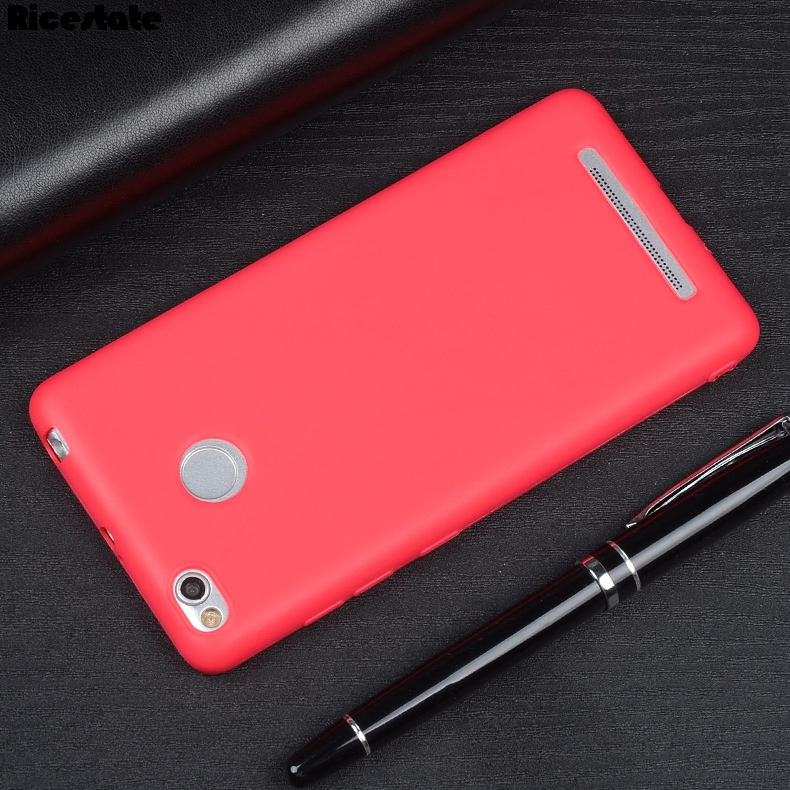 0.6Mm Ultra Thin Cover For Xiaomi Redmi 3 S 3S 3 Pro 5.0