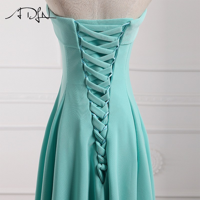 ADLN Strapless Long Bridesmaid Dresses vestido madrinha longo robe de demoiselles d honneur pour mariage imported party dress 13