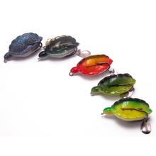 CATCHSIF 5pcs Hollow body soft turtle 12.5g fishing baits Make bass attack baby enemy lures KIT