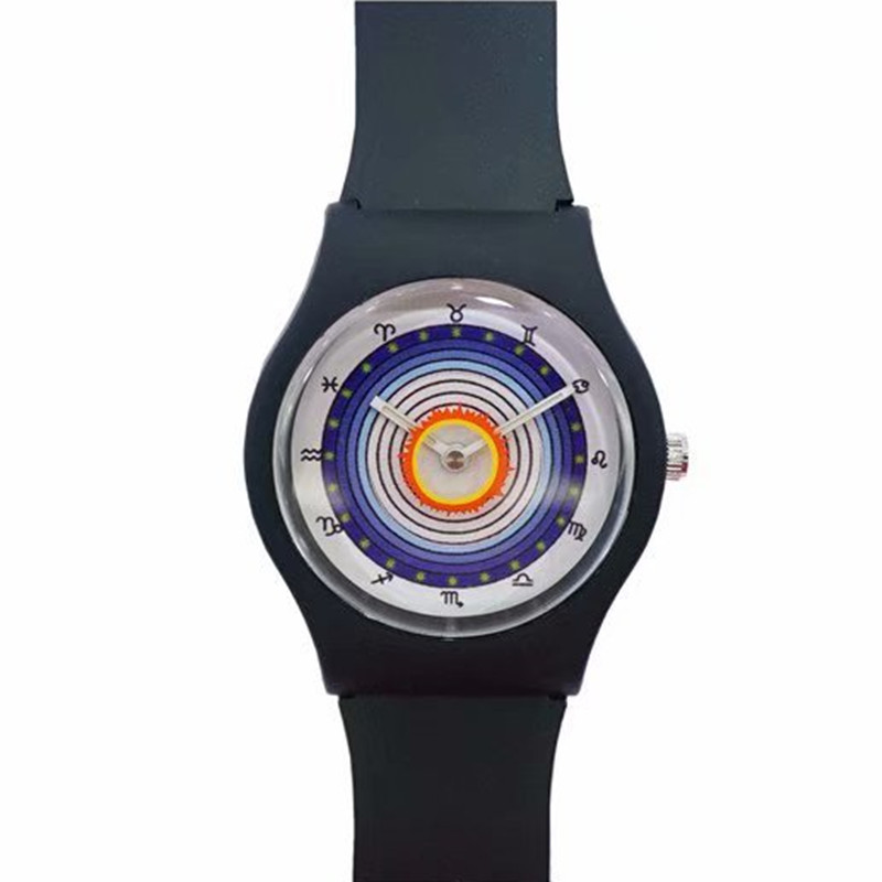 Latest Style Constellation Design Girl Watch, Ladies Sports Watch