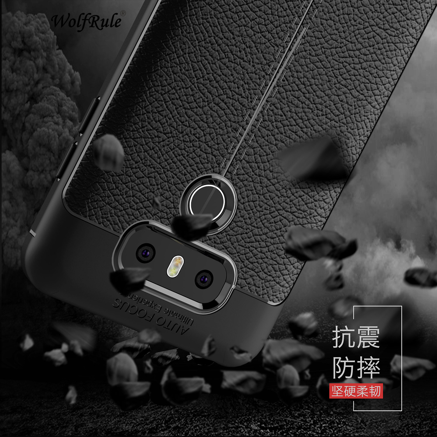 Wolfrule Sfor Phone Case LG G6 Cover Shockproof Luxury Leather Soft TPU Case For LG G6 Case For LG G 6 H870 H873 H870DS Funda ]