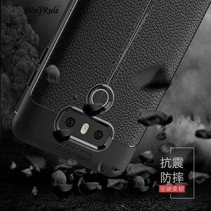 Image 1 - Wolfrule sfor caso de telefone lg g6 capa à prova de choque de couro de luxo macio tpu caso para lg g6 caso para lg g 6 h870 h873 h870ds funda]