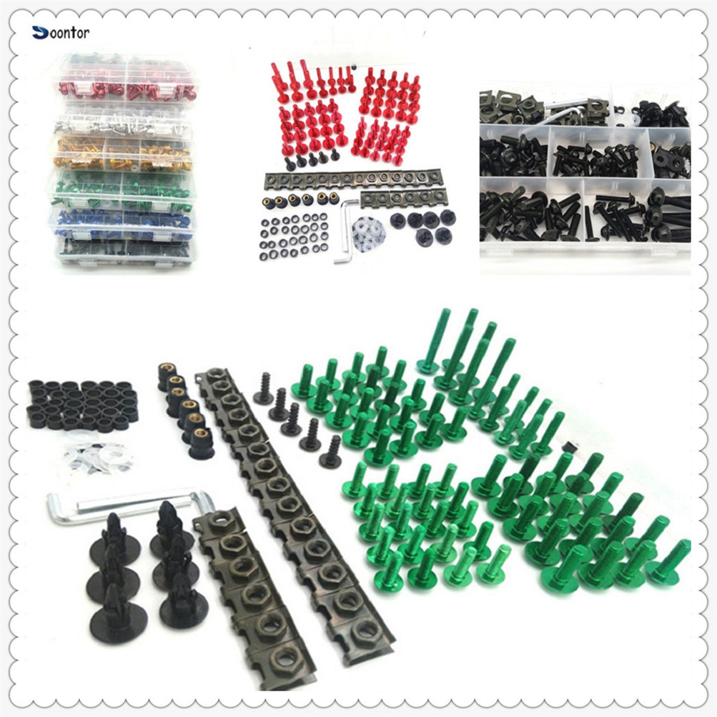 Motorcycle Accessories Fairing Body Bolts set Kit Fastener Clips Screw Nuts For YAMAHA TDM 900 Aprilia MANA MODEL RST1000 цены