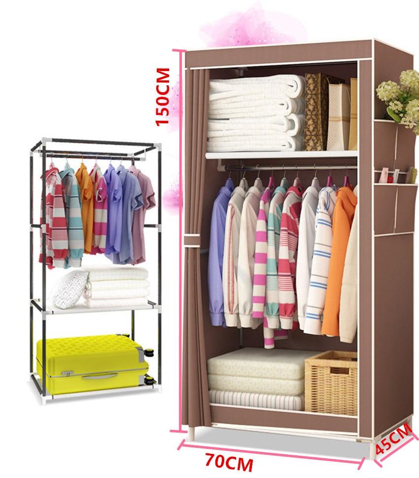 YYFIRE Vlies DIY Einfache Kleiderschrank Finishing Kleidung Sammlung ...