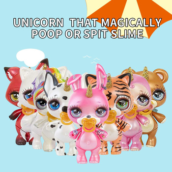 New Slime Doll Toys Squishy Poopsie Slime Surprise Unicorn Anti Stress Squeeze Squishy for Children gifts Онихомикоз