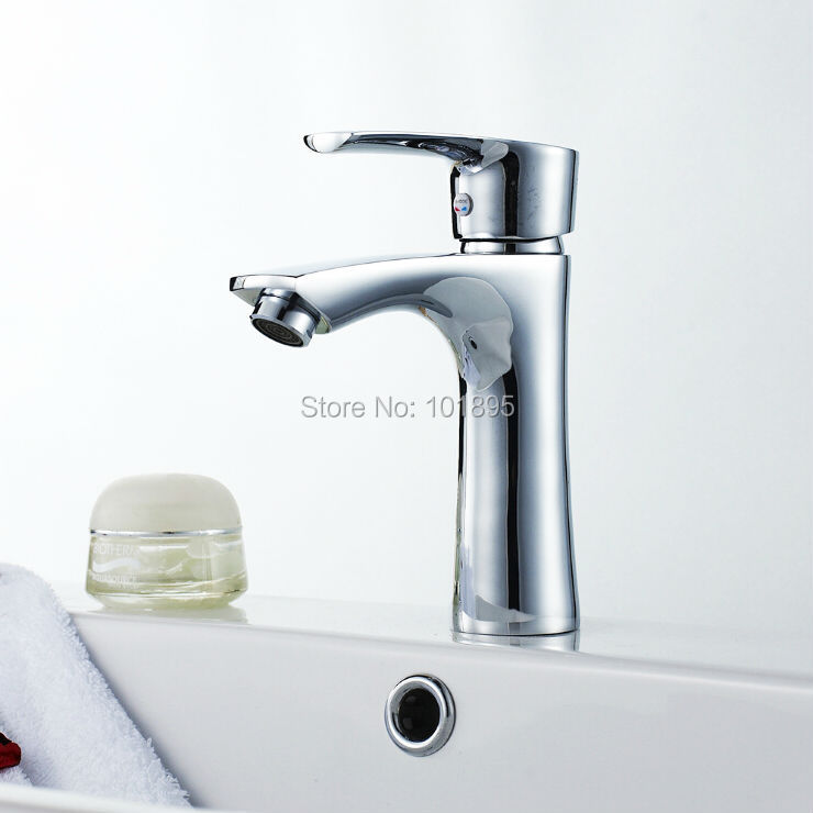 L16836 Deck Mounted Brass Material Washbasin TapL16836 Deck Mounted Brass Material Washbasin Tap