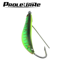Proleurre 1Pcs 8.2cm Ice Fishing Baits Artificial 15.5g Quality Winter Fishing Lures Strong Fake Fish Jigging Lead Fish Lures