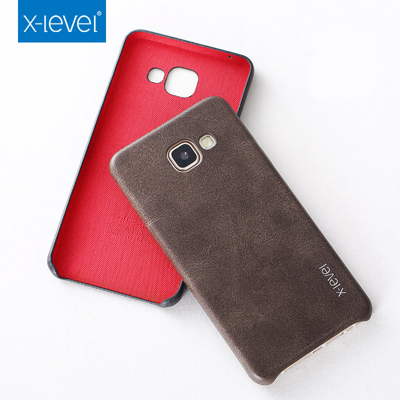 X level Retro luxury Phone Case For Samsung Galaxy A5 2017 A5200 PU Leather Cover Case For Samsung Galaxy A5 A520F Phone Shell